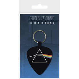Pink Floyd Darkside Of The Moon Plectrum Woven Keyring