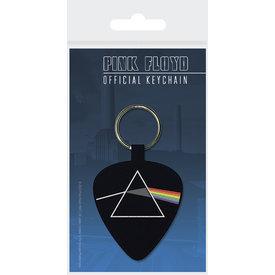 Pink Floyd Darkside Of The Moon Plectrum Woven Keyring