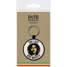 Bob Marley One Love Woven Keyring