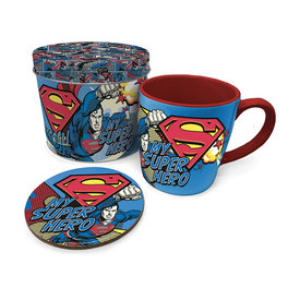 Superman My Super Hero Metal Tin Giftset