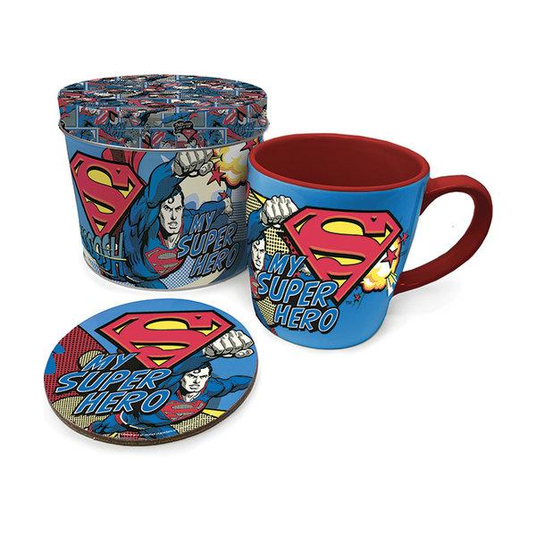 Superman My Super Hero Metal Tin Giftset