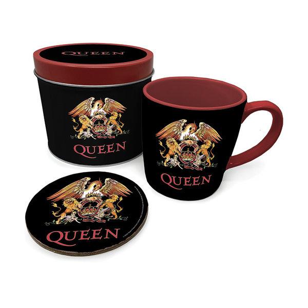 Queen Colour Crest Metal Tin Giftset
