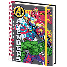 Marvel Avengers Burst A5 Notebook