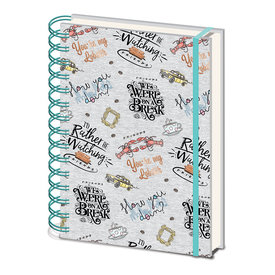 Friends Marl Cahier de note A5