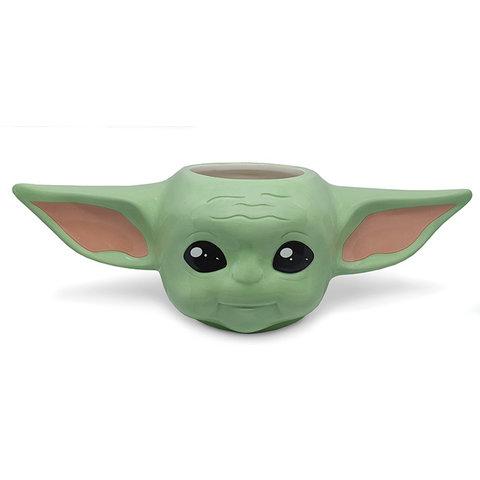 Star Wars The Mandalorian Baby Yoda 3D Shaped Mug