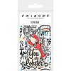 Friends You Are My Lobster - Keyring