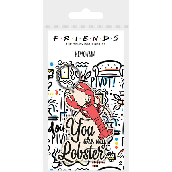 Friends You Are My Lobster - Porte-clé