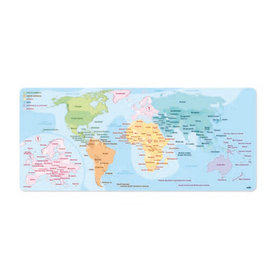 World Map 2 XL Gaming Mat