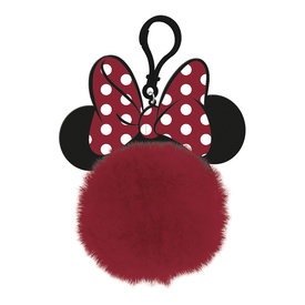 Disney Classic Minnie Mouse Ears - Pom Pom Keyring