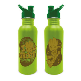 Marvel Guardians Of The Galaxy Groot Metal Canteen Bottle