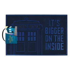 Doctor Who TardisRubber  Doormat