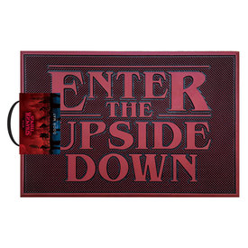 Stranger Things Upside Down Rubber Doormat