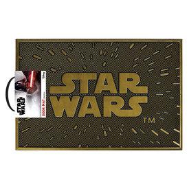 Star Wars Logo Rubber Tapis-brosse