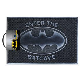 Batman Enter The Batcave Rubber Tapis-brosse