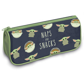 The Mandalorian The Child Naps And Snacks Pencil Case