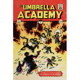 The Umbrella Academy School Is In Session Maxi Poster