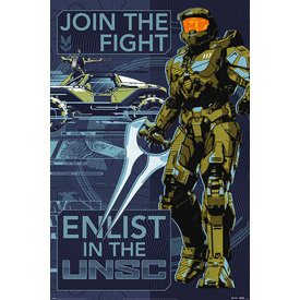 Halo Infinite Join The Fight Maxi Poster