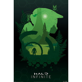 Halo Infinite Lakeside Maxi Poster