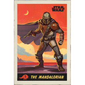 Star Wars The Mandalorian Poster Maxi Poster