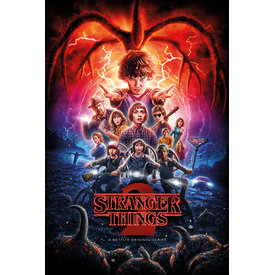 Stranger Things One-Sheet Season 2 Maxi Poster