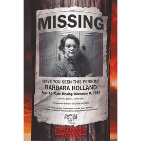 Stranger Things Missing Barb Maxi Poster