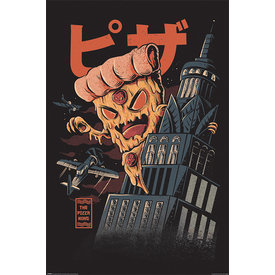Ilustrata Pizza Kong Maxi Poster