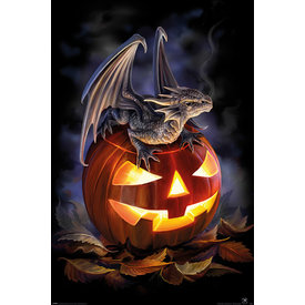 Anne Stokes Trick Or Treat Maxi Poster