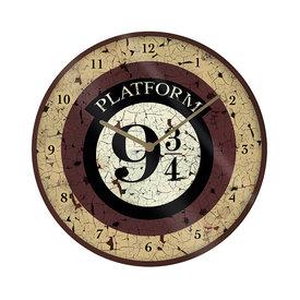 "Harry Potter Platform 9 3/4 10"" Muurklok"