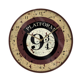 "Harry Potter Platform 9 3/4 10"" Wandklok"