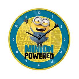 "Minions The Rise Of Gru Minion Powered 10"" Muurklok"