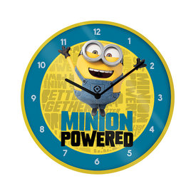 "Minions The Rise Of Gru Minion Powered 10"" Wandklok"