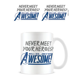 Avengers Gamerverse Never Meet Your Heroes Mug