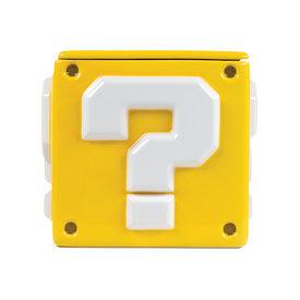 Super Mario Question Mark Block Storage Jar