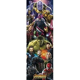 Marvel Avengers Infinity War - Poster de Porte