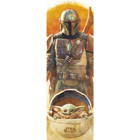 Star Wars The Mandalorian Door Poster