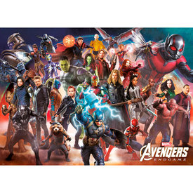 Marvel Avengers Endgame Line Up XL Poster