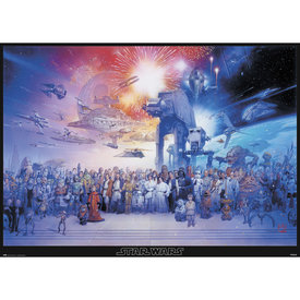 Star Wars Legacy Characters XL Poster