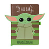 Star Wars The Mandalorian The Child I Am All Ears Green Premium A5 Notebook