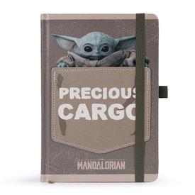 The Mandalorian The Child Precious Cargo Cahier de note A5 premium