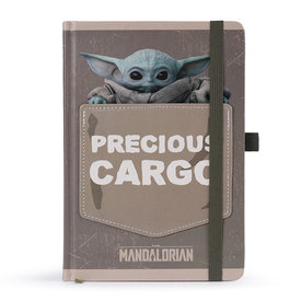 The Mandalorian The Child Precious Cargo Premium A5 Notebook
