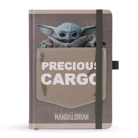 The Mandalorian The Child Precious Cargo Premium A5 Notebook