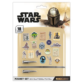 Star Wars The Mandalorian The Child - Magneet Set