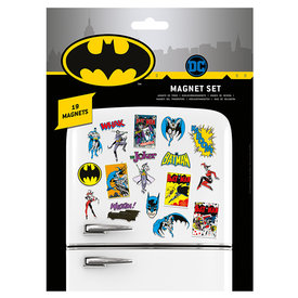 DC Comics Batman Retro Magnet Set