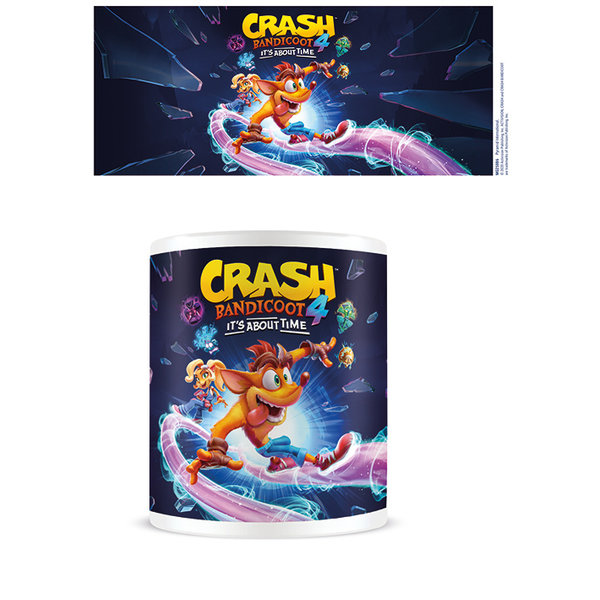 Crash Bandicoot 4 It's About Time Mug
