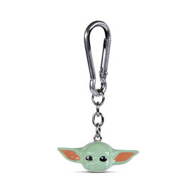Star Wars The Mandalorian Baby Yoda Polyresin 3D Keyring