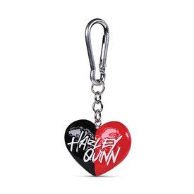 Harley Quinn Heart Polyresin 3D Sleutelhanger
