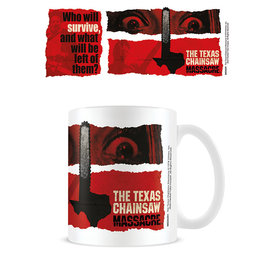 Texas Chainsaw Massacre Newsprint Mug