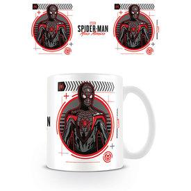 Spider-Man Miles Morales Suit Tech Mug