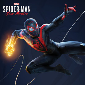 Spider-Man Miles Morales Electric Fist Swing - Canvas 40x40m