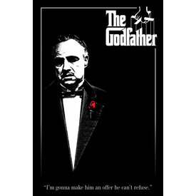 Godfather Red Rose Maxi Poster